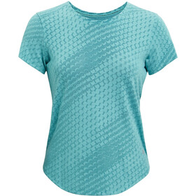Under Armour Streaker Runclipse Short Sleeve Shirt Women, cosmos-cosmos